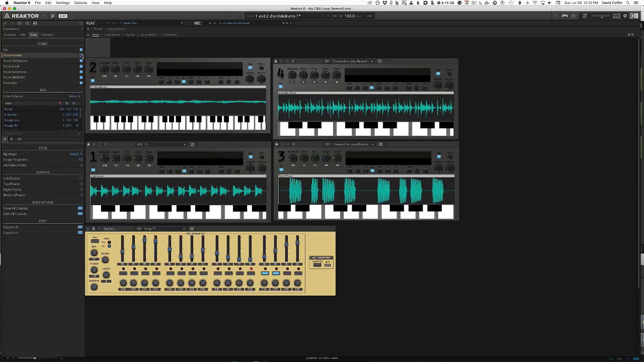 Video related to Reaktor Loop Rework