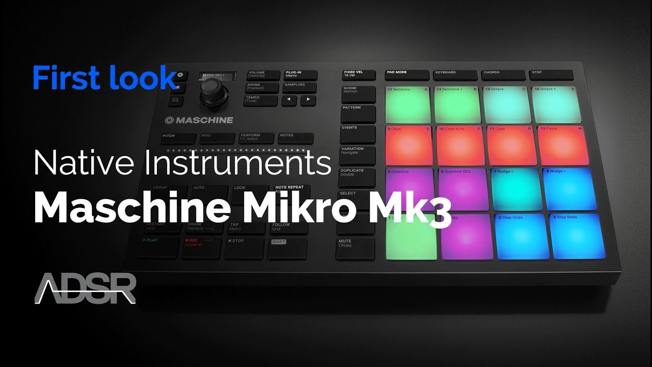 Maschine Mikro MK3 - First Look / Unboxing