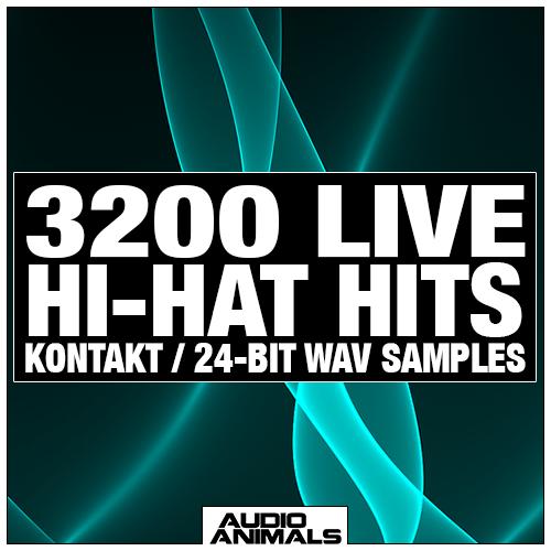 3200 Live Hi-Hat Hits