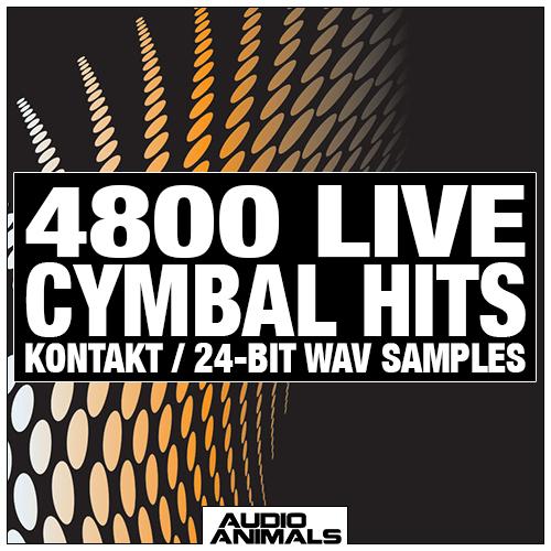 4800 Live Cymbal Hits