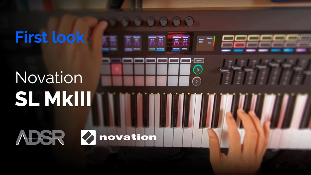 Novation 61 SL MkIII - First Look