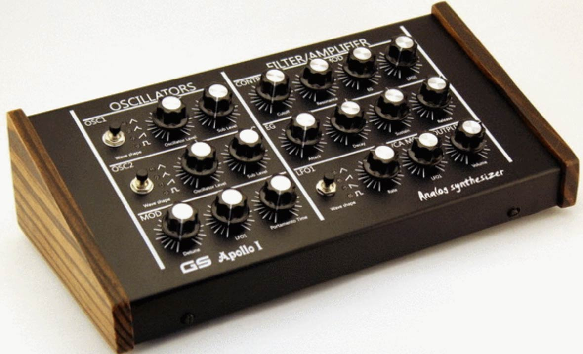 Meet The Apollo I, A New Monophonic Analog Synthesizer Available For Presale