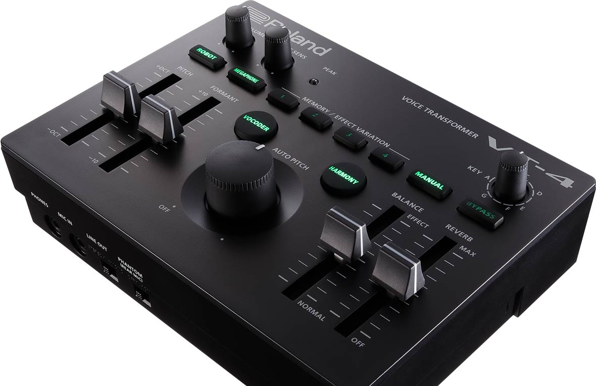 Roland Announces VT-4 Vocal Effects Processor