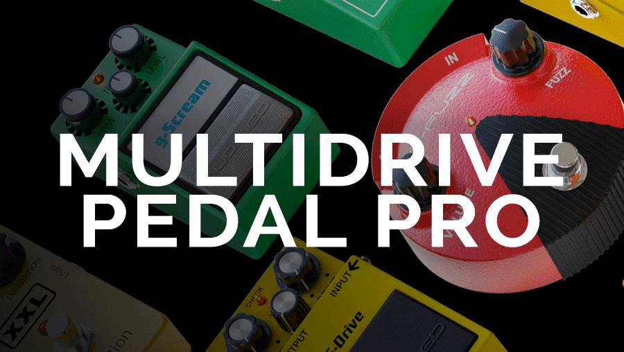 MultiDrive Pedal Pro