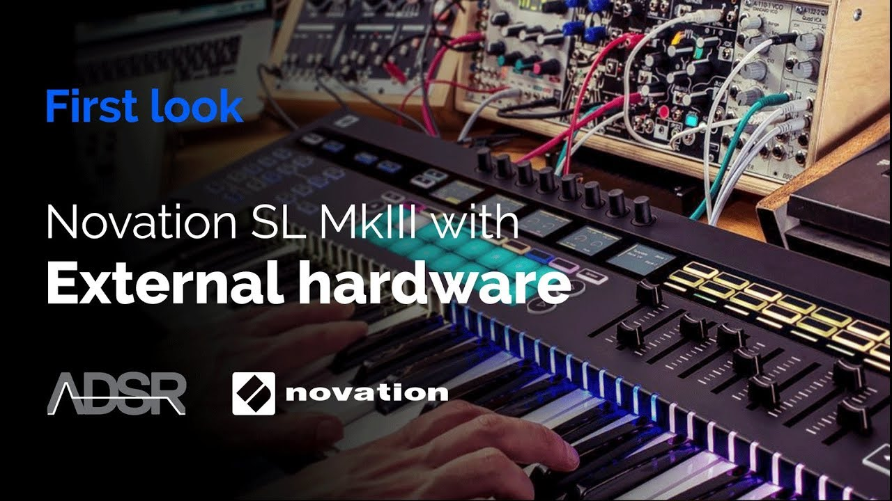 Novation 61 SL MkIII - Using with external hardware synths