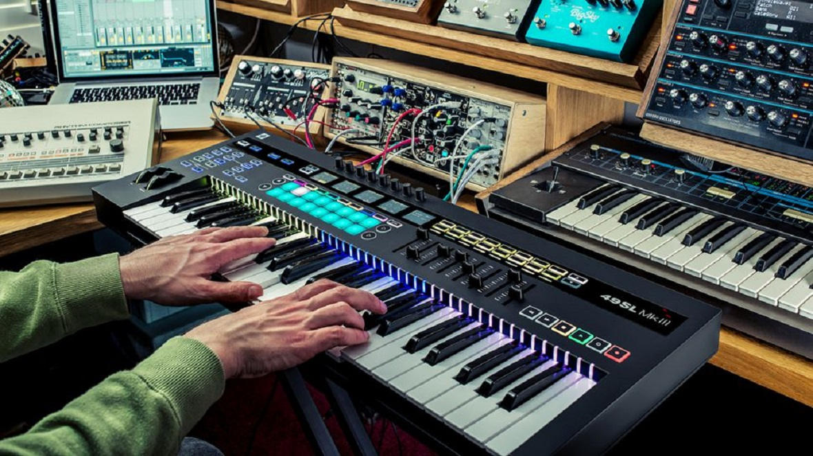 Novation Announces SL MKIII - MIDI Controller and 8-Track Sequencer