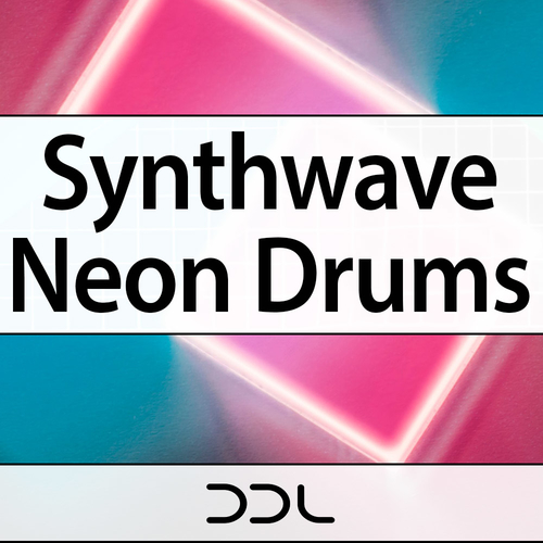 Synthwave Neon Drums