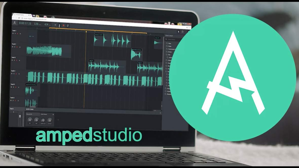 Amped Studio 2.0 Is A Powerful DAW That's Completely Online
