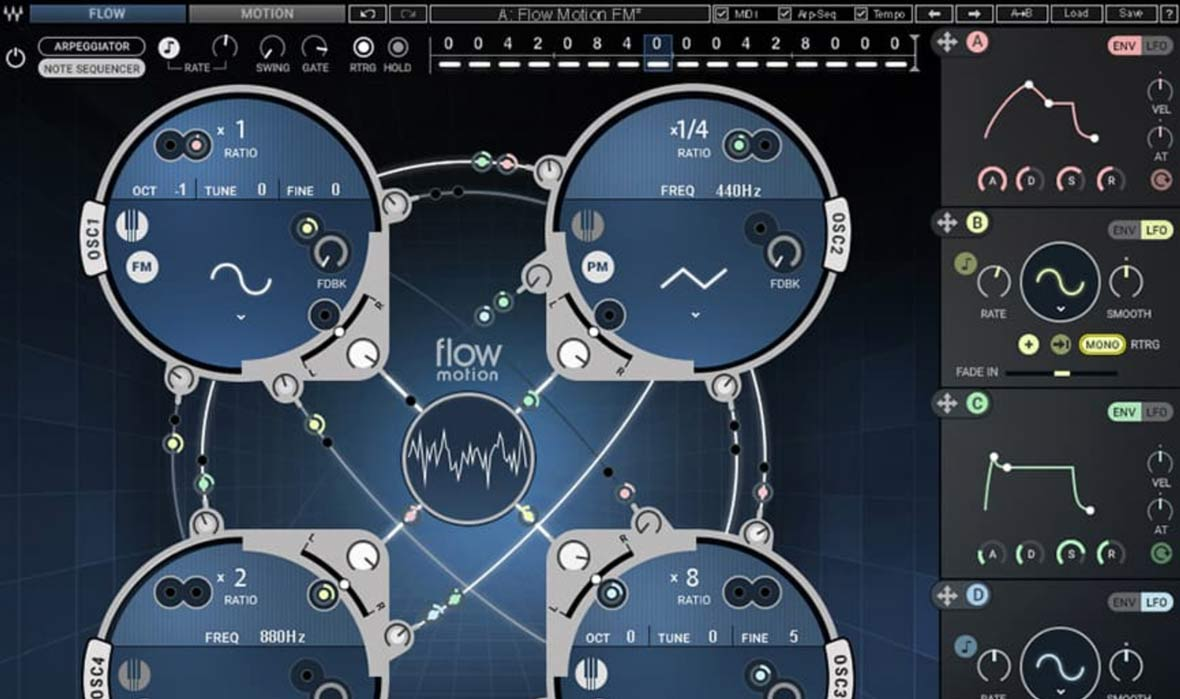 Waves Introduces The Flow Motion FM Synth