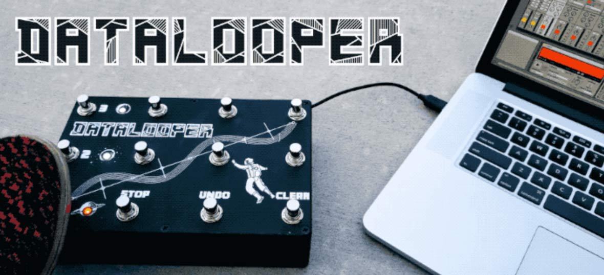The DataLooper Is A MIDI Looper Pedal For Ableton Live
