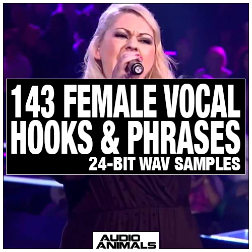 143 Female Vocal Hooks & Phrases
