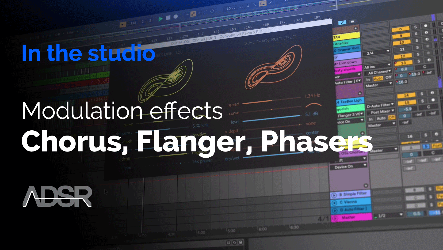Modulation Effects - Chorus, Flanger, Phasers