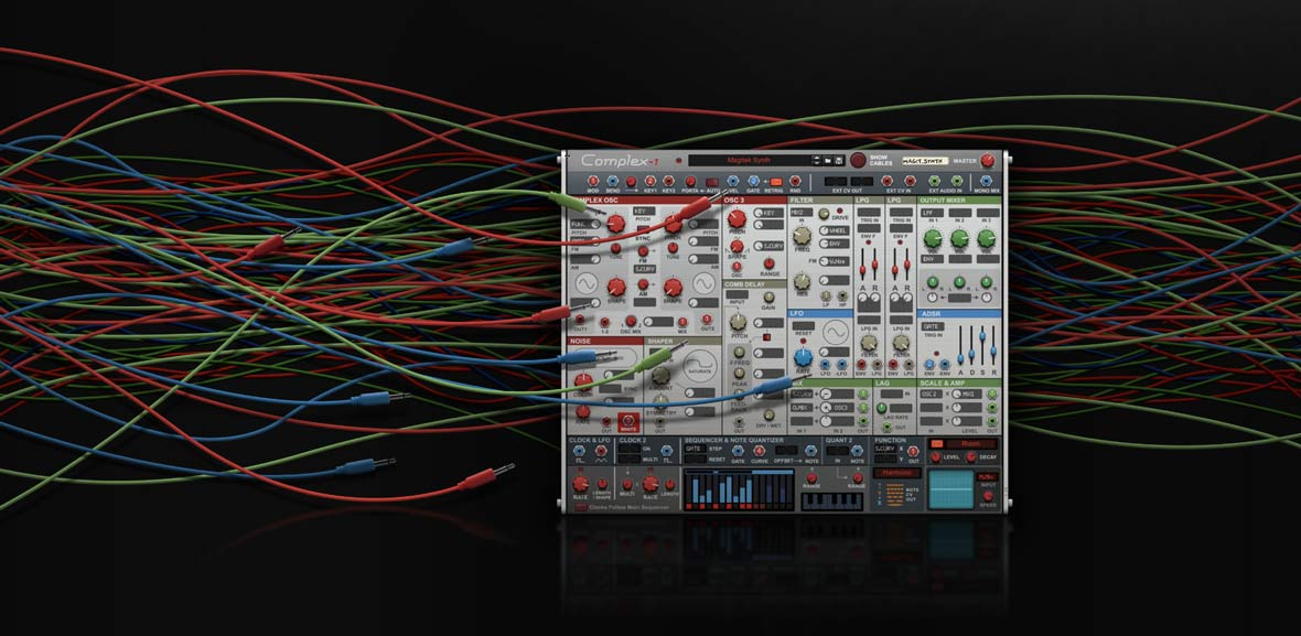 Propellerhead Releases Complex-1 Modular Synthesizer Plugin For Reason