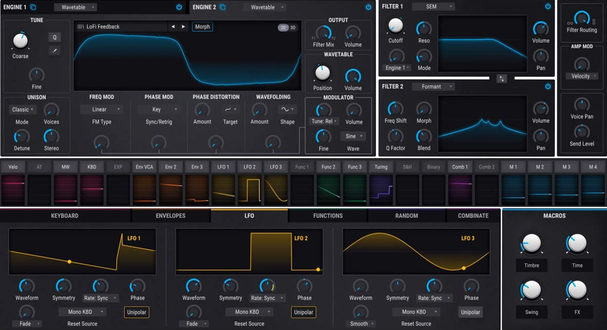 Arturia Releases Pigments, Hybrid Wavetable and Virtual Analog Synthesizer