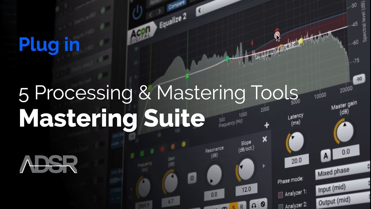 Video related to Mastering Suite