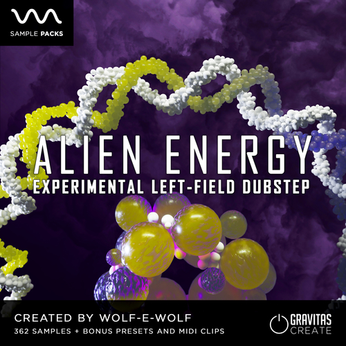 ALIEN ENERGY - Experimental Left-field Dubstep