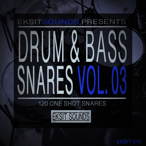 Drum & Bass Snares Volume 3