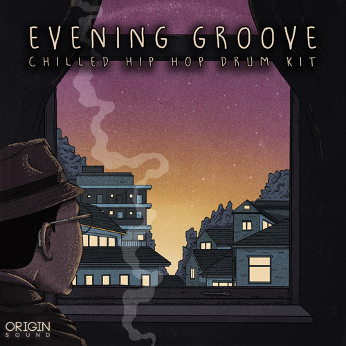 Evening Groove - Chilled Hip Hop Drum Kit