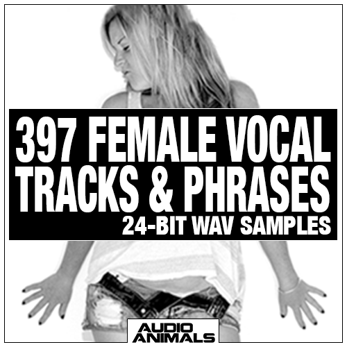 397 Female Vocal Tracks & Phrases