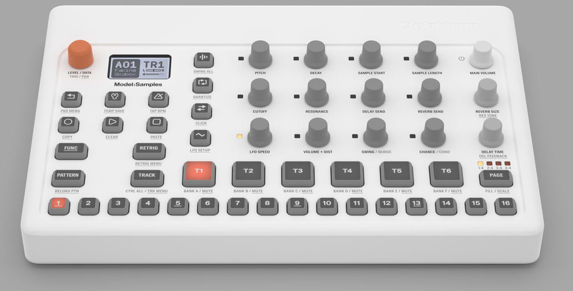 NAMM 2019: Elektron Introduces Model:Samples, 6 Track Sample-Based Groovebox