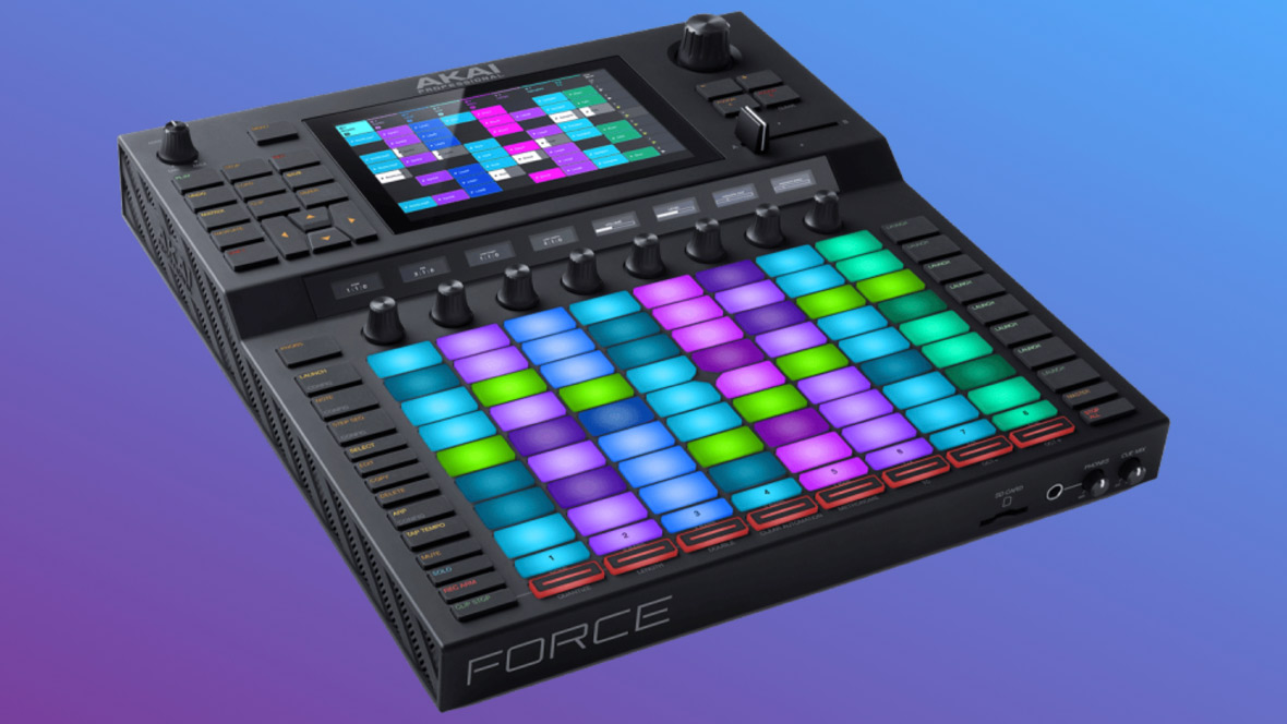 NAMM 2019: The Akai Pro Force, Standalone Production System, Delivers Ableton-Inspired Workflow