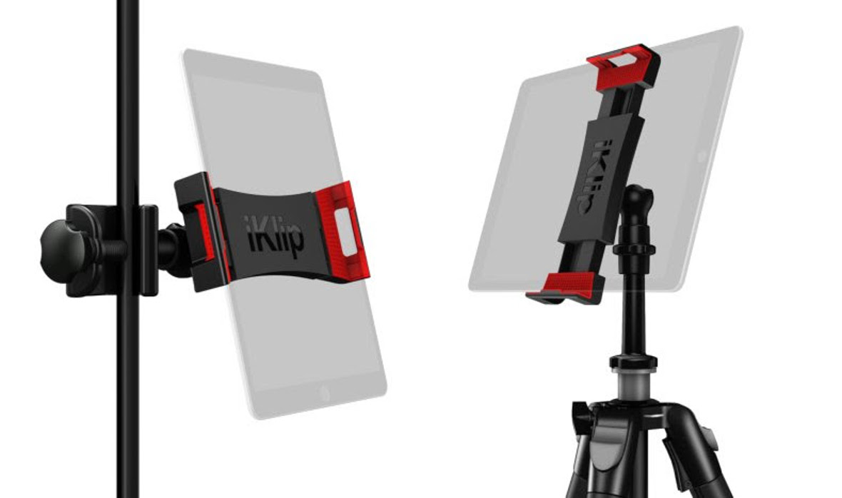 IK Multimedia Introduces iKlip 3 Series of iPad and Tablet Mounts