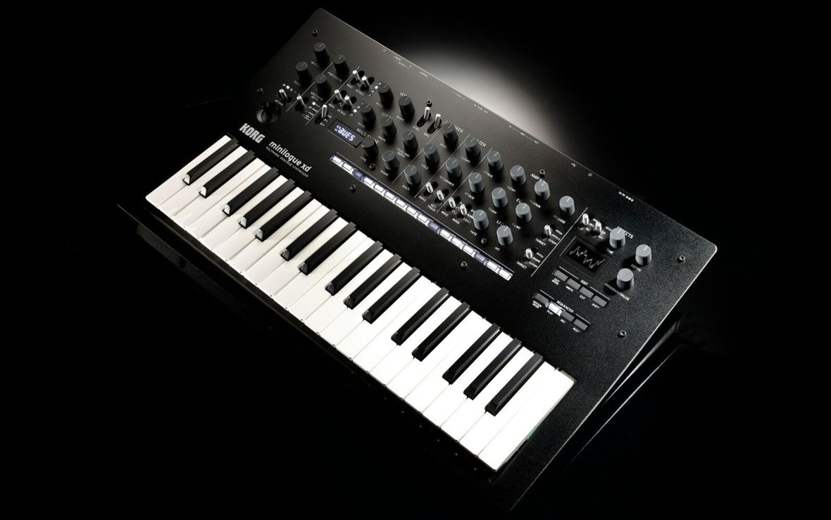 NAMM 2019: Korg Announces Minilogue XD Analog Synthesizer