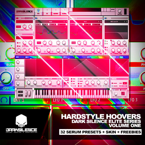 Hardstyle Hoovers Volume 1 for Xfer Serum