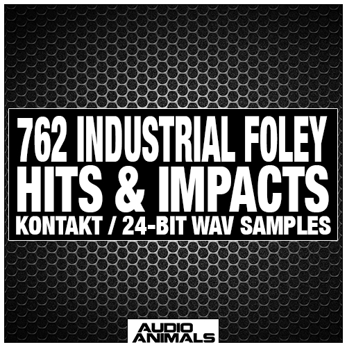 762 Industrial Foley Hits & Impacts
