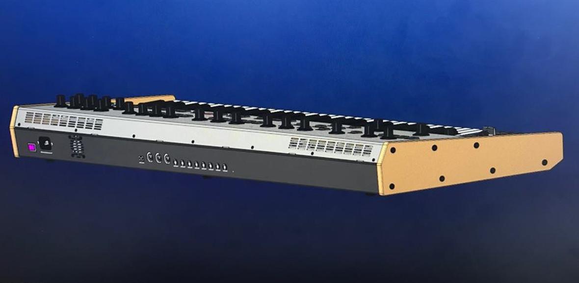 Behringer Unveils CAD Prototype Of Oberheim OB-Xa Clone, UB-Xa