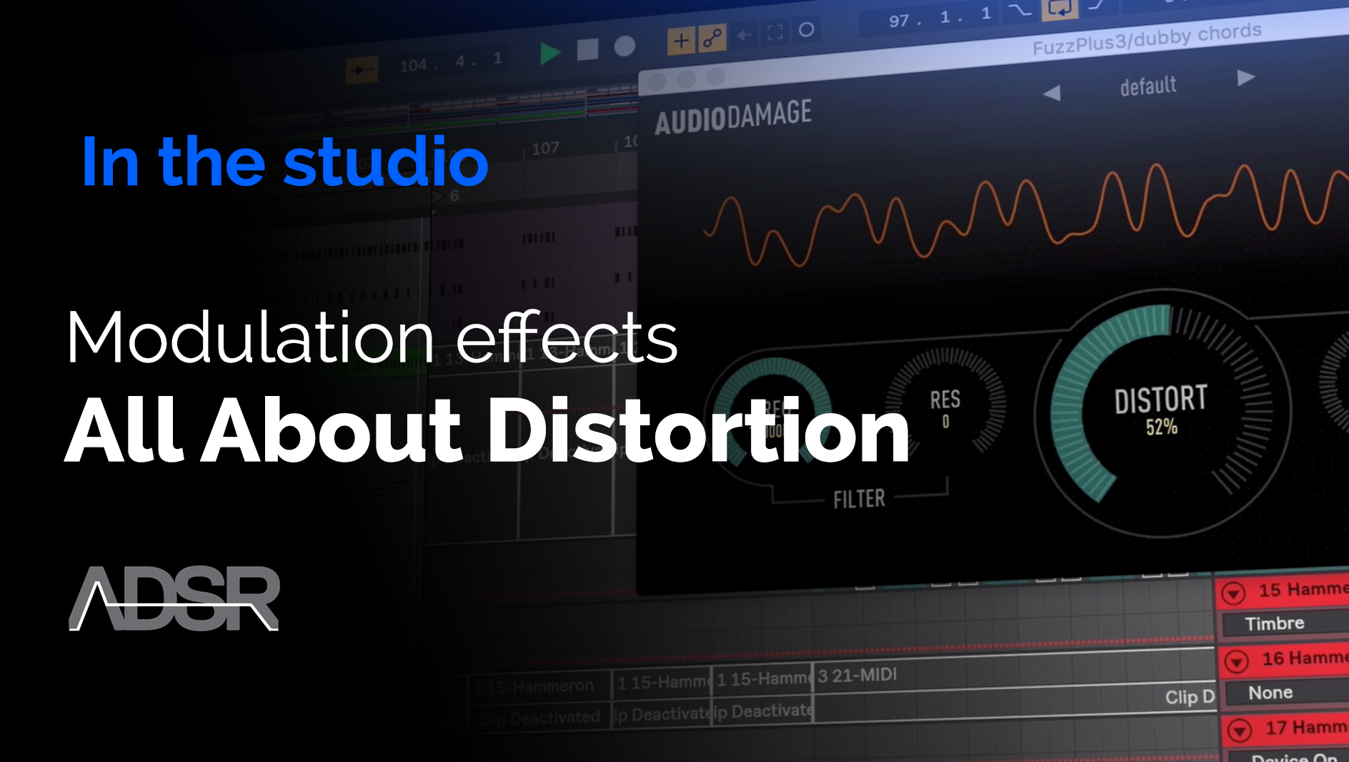 Modulation Effects - All about Distortion, from subtle to extreme Phasers