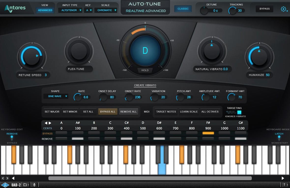 UA Releases Antares Auto-Tune Realtime Advanced and Diezel Herbert Amplifier Plug‑Ins