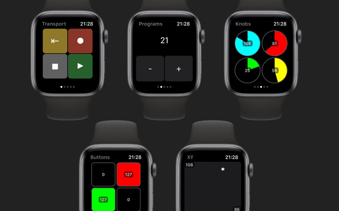 MidiWrist Turns Your Apple Watch Into A MIDI Controller