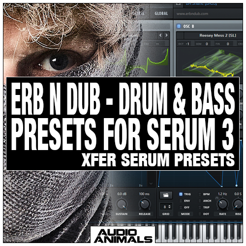 Erb N Dub - Drum & Bass Presets For Serum 3