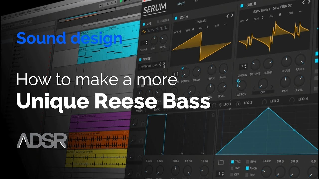 Serum Tutorials – ADSR