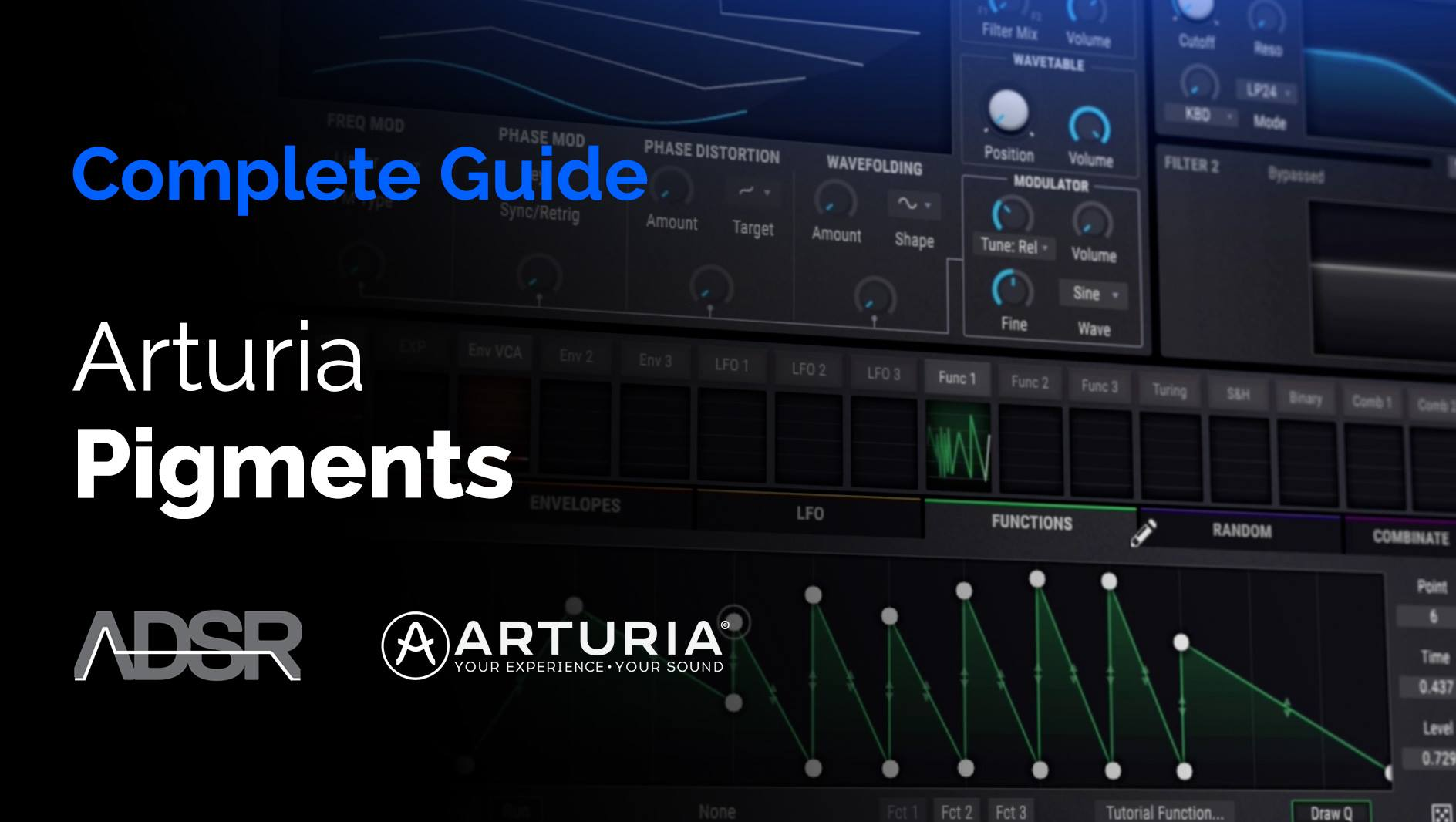 Complete Guide to Arturia Pigments