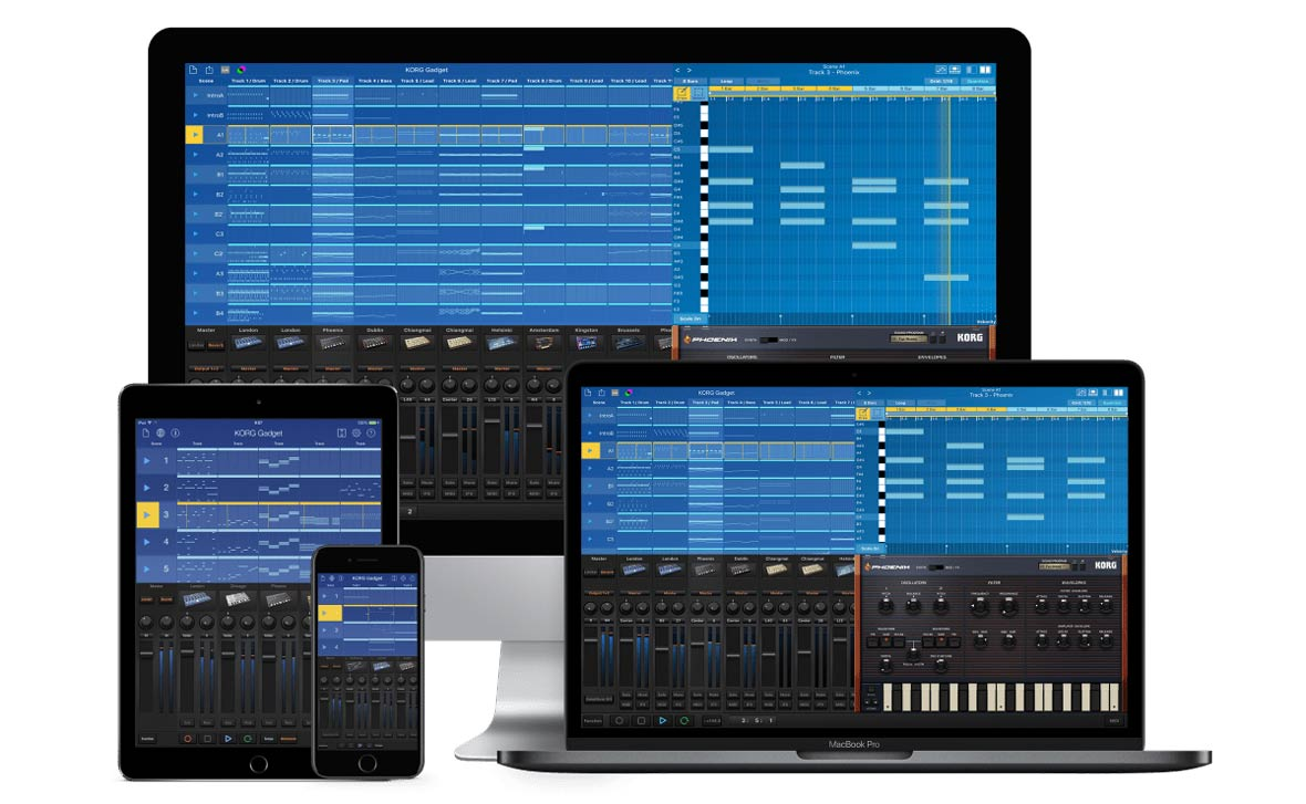 Korg Releases Gadget 2 For Windows, Mac and iOS