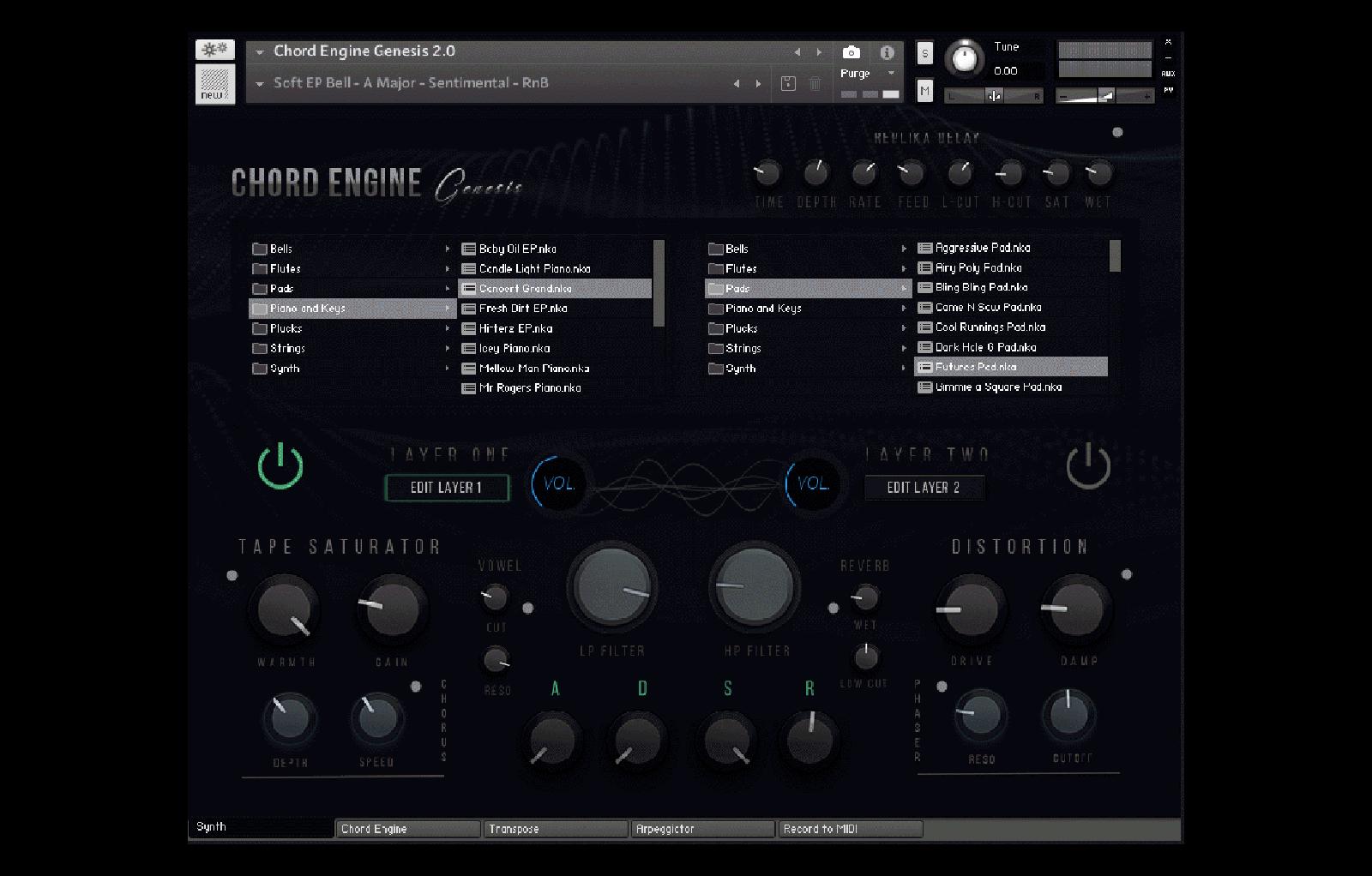 Chord Engine Genesis 2 0