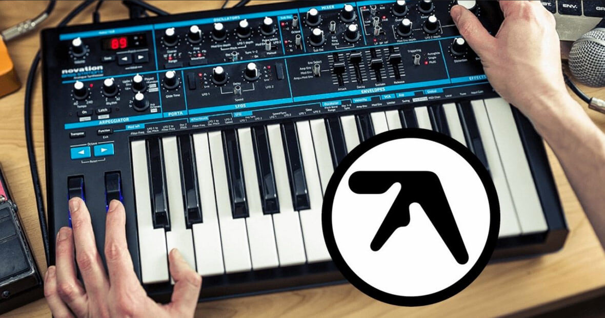 Novation Partner With Aphex Twin To Release Bass Station II Firmware Update