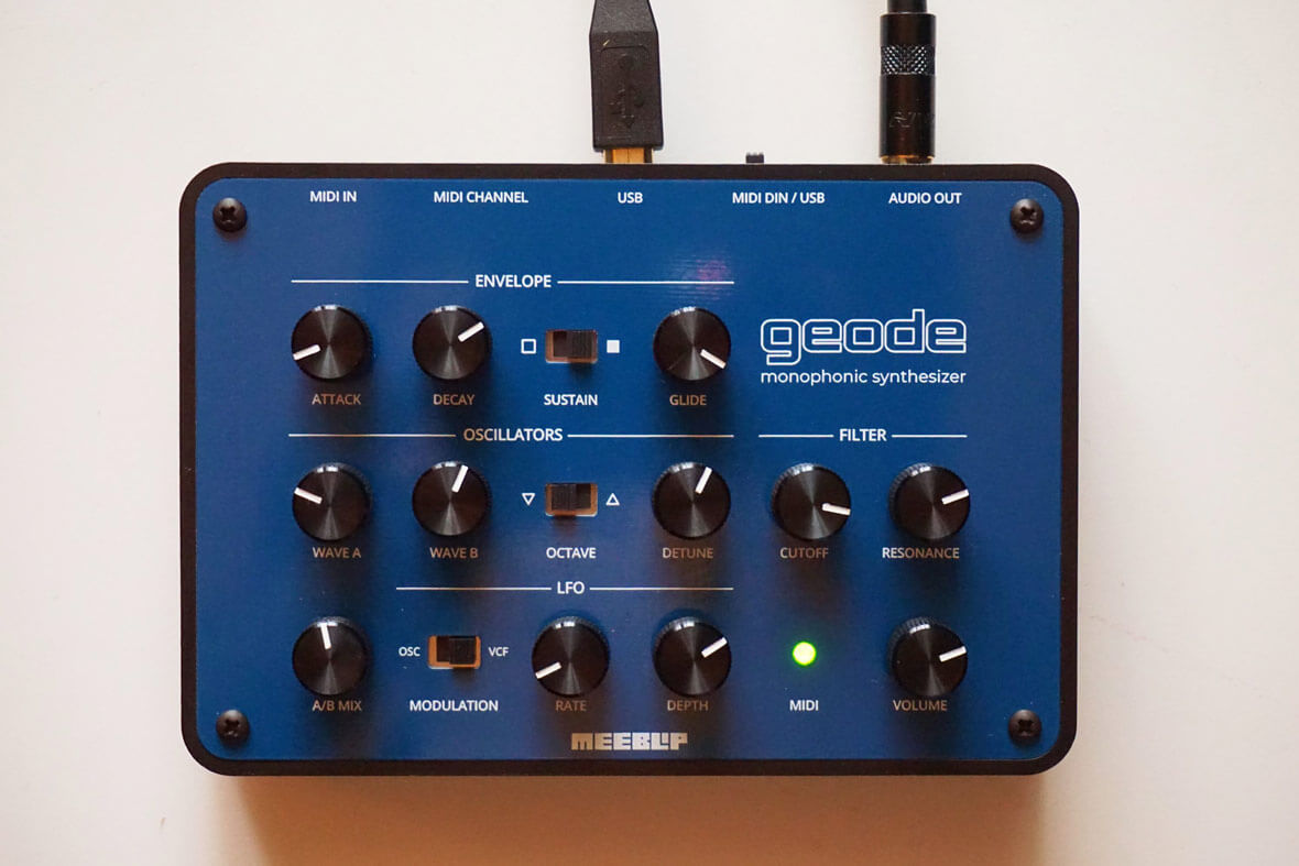 The MeeBlip geode Is A Simple Synth With A Dirty, Analog Sound