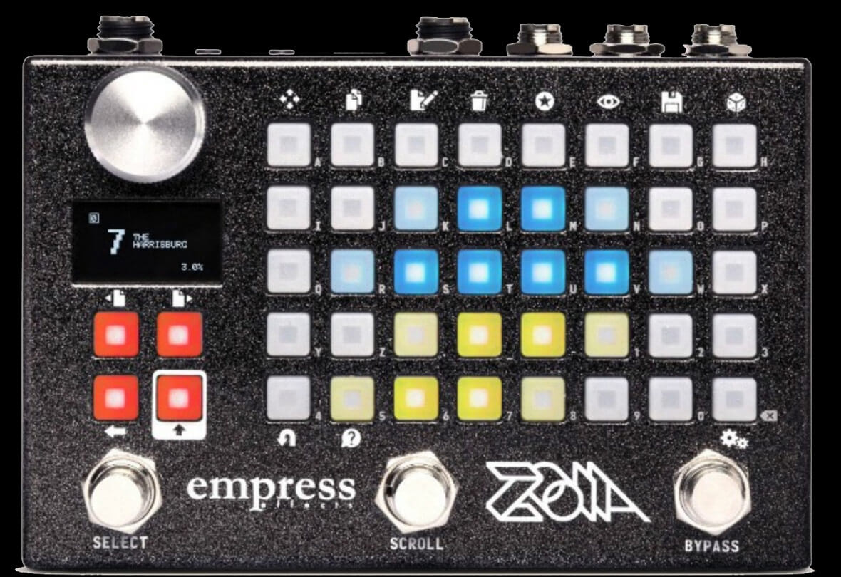 ZOIA Is A Module Synthesizer In Pedal Form