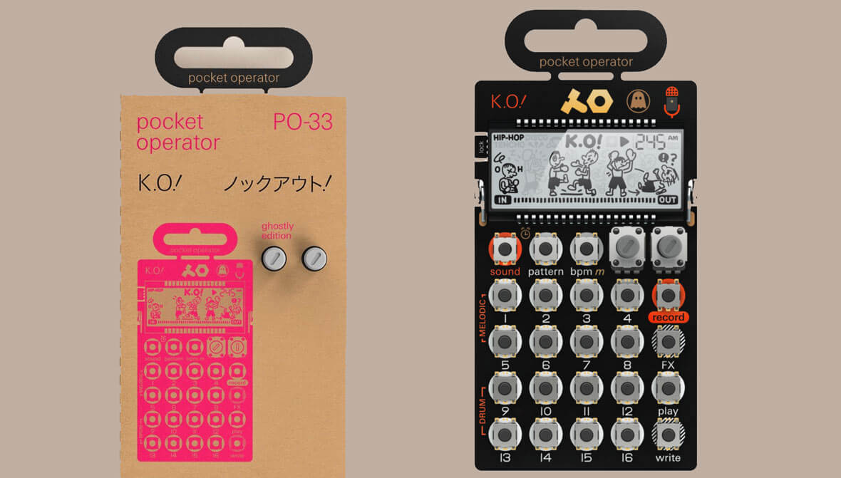 Teenage Engineering x Ghostly Release PO-33 'Ghostly Edition'