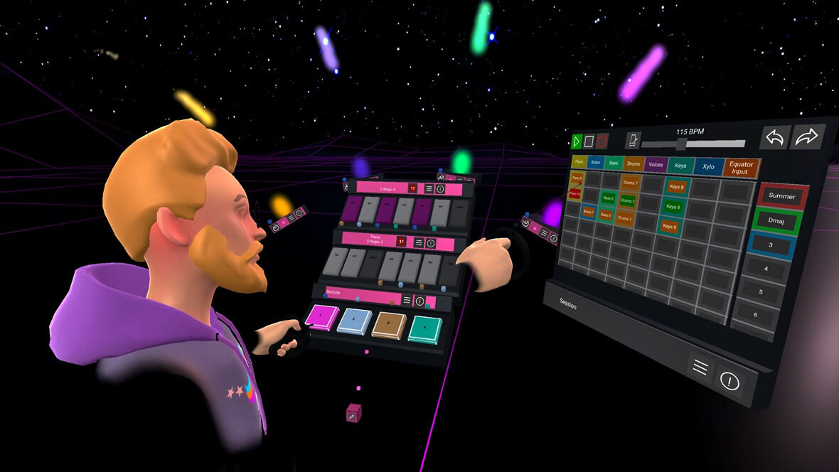 Modulia Studio Is A VR Music Making App Optimized For Ableton Live