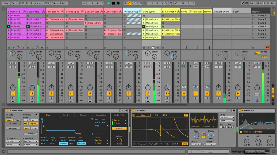 Ableton Introduces Live 10.1 CV Tools