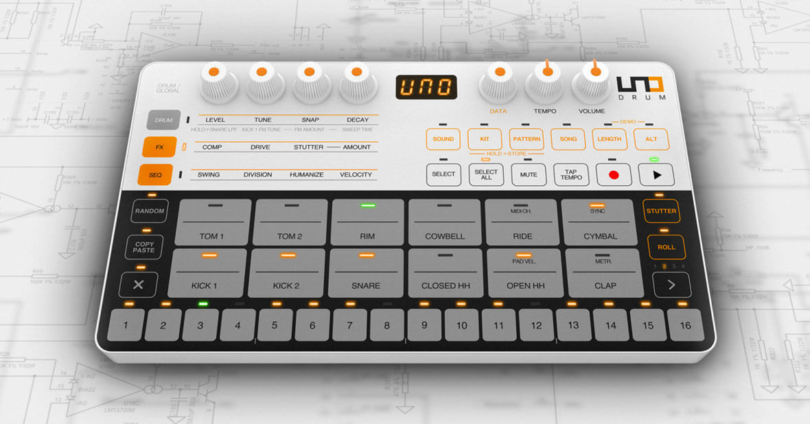 IK Multimedia Has Released The UNO Drum