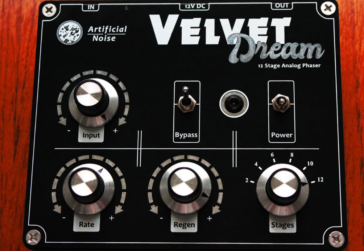 The Velvet Dream Is a 12-Stage Analog Phaser