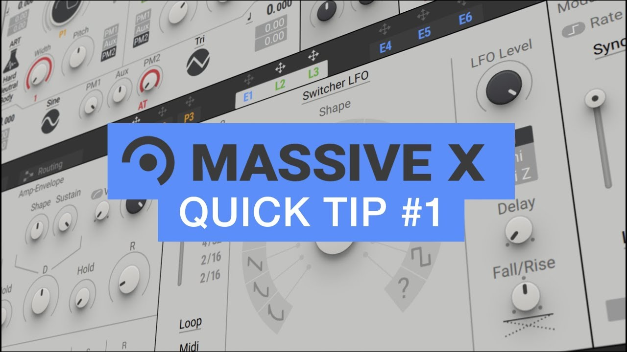 10 Quick Workflow Tips For Massive X