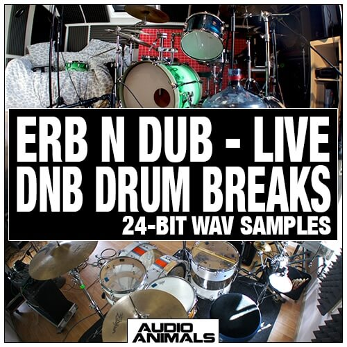 Erb N Dub - Live DNB Drum Breaks