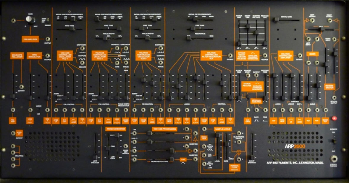 Behringer Announces They Will Be Cloning The Arp 2600
