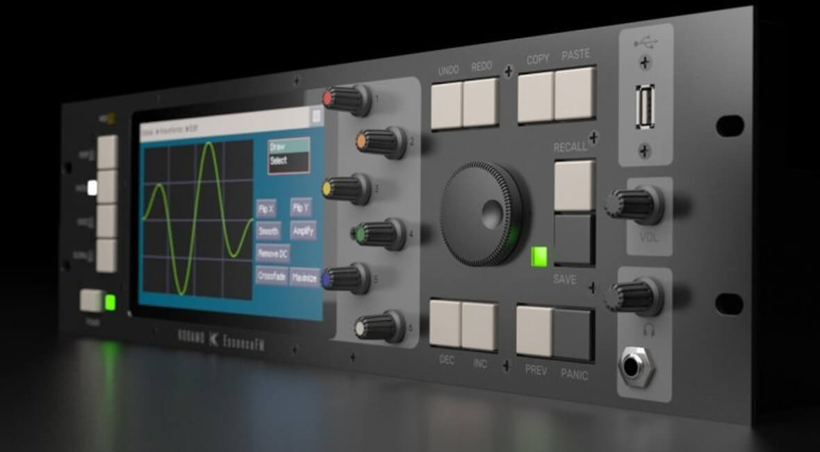 EssenceFM Is A 6-Operator FM Synth With 300 Voice Polyphony